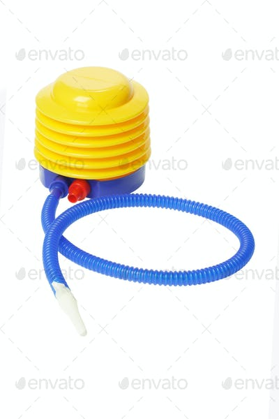 Colorful Plastic Air Pump