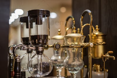 Siphon coffee pot