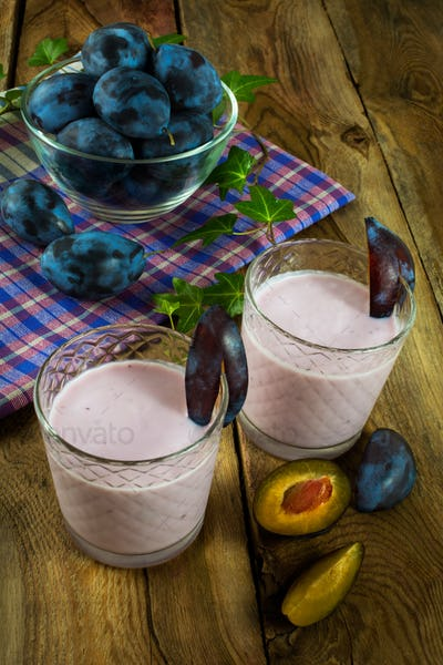 Fresh fruit diet healthy drink