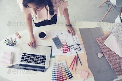 Designer at office