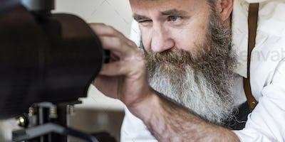Barista Coffee Maker Machine Grinder Portalifter Concept