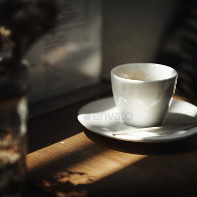 Coffee Cup Cafer Relax Contemporary Concept