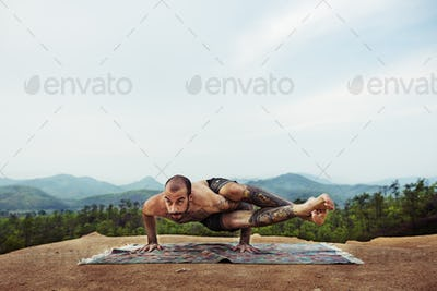 Calm Energy Exercise Yoga Zen Tranquil Travel Concept