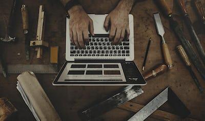 Craftsman Career Art Activity Skilled Occupation Concept