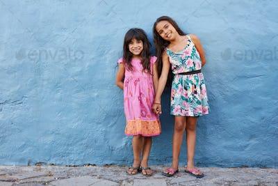 Two little beautiful girls