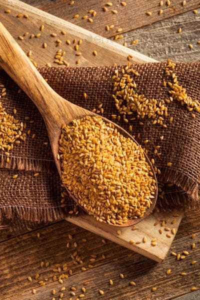 Raw Organic Golden Flax Seeds