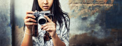Travel Tourism Camera Photograph Wanderlust Concept
