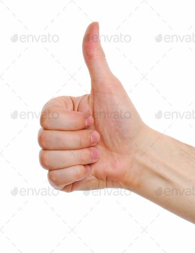 Human Thumb. Good.