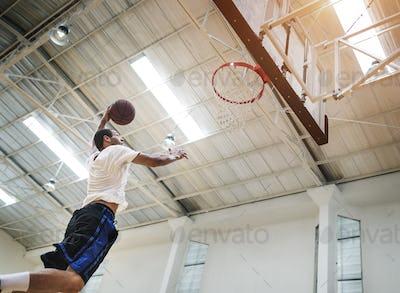 Coach Athlete Basketball Bounce Sport Concept