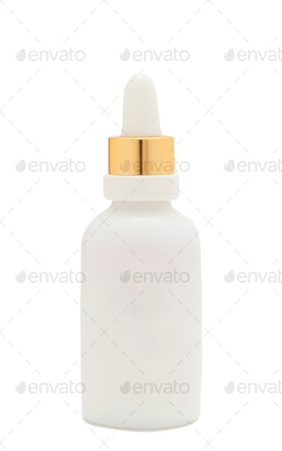 baby milk bottle isolated