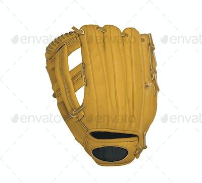leather baseball glove
