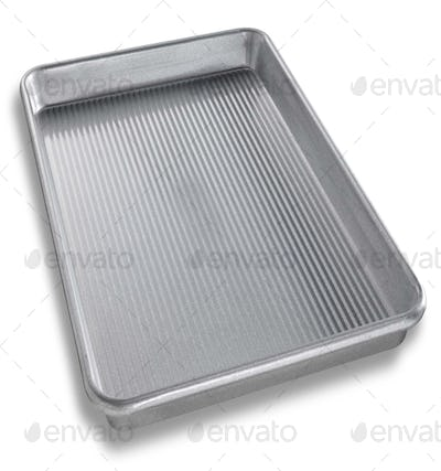 Close-up of an empty tray