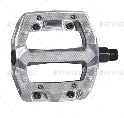 Bike pedal isolated