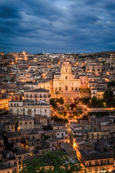 Modica in Sicily