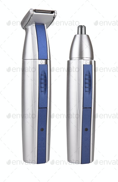 Hairclipper  on white background