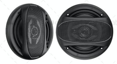 Coaxial car speakers