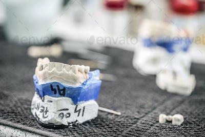 Dental technician workplace