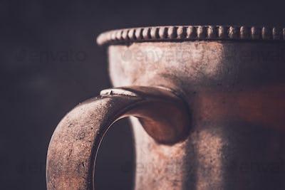 Fragment of the metal jug