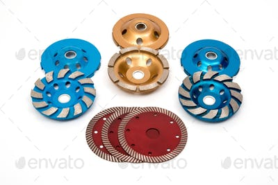 Industrial turbo concrete grinding wheels