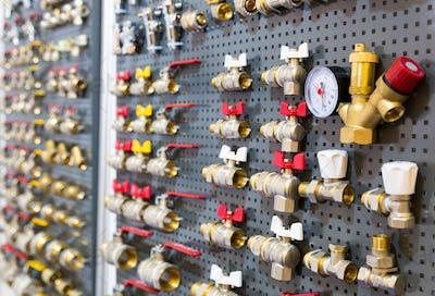 Different valves