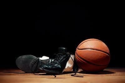 The basketball equipment