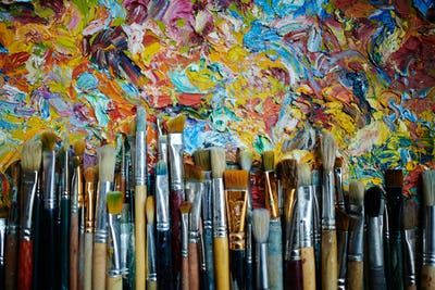 Brushes on Abstract Art