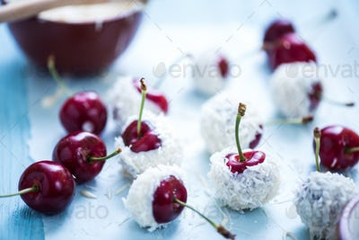 cherries in chocolate