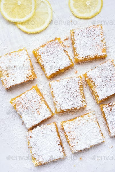 Lemon squares and slices