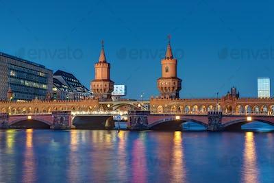 The Oberbaumbridge in Berlin