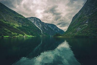 Scenic Fjords Landscape