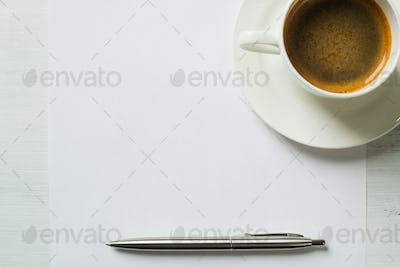 Coffee cup for fresh idea