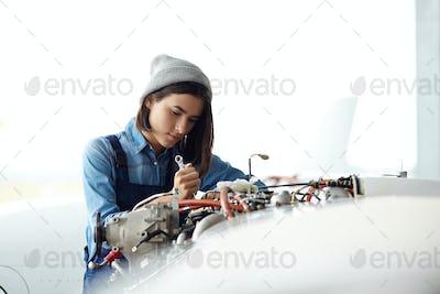 Repairing air jet