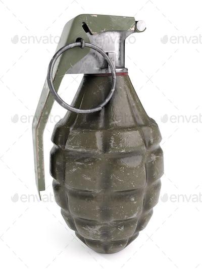 Fragmentation Grenade - 3D Illustration