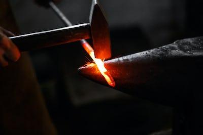 Ironsmith hitting hotsteel