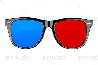 3d cinema anaglyph glasses