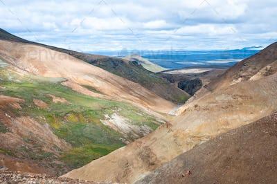 rainbow mountains, Iceland