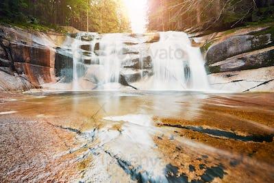 Amazing Mumlava waterfalls