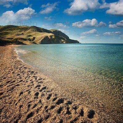 Seascape, Beach at dawn