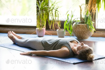 Yoga at home: Shavasana Pose