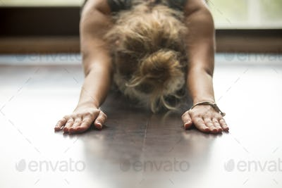 Yoga at home: Child Pose