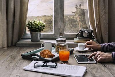 Hipster breakfast