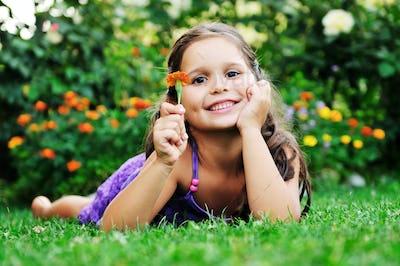 happy childredn outdoor