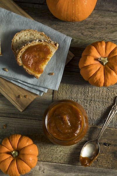 Organic Homemade Pumpkin Butter