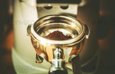 Espresso Portafilter Coffee