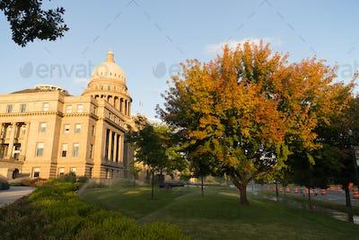 Boise Idaho Capital City Downtown Capitol Building Legislative C