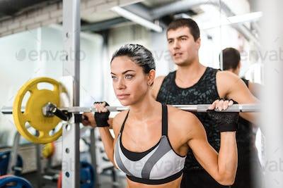 Weight lift training