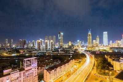 tianjin night view