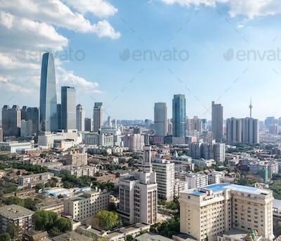modern city landscape of tianjin