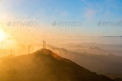 inland wind farm