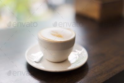 Coffee Shop Cafe Restaurant  Latte Cappuccino Concept